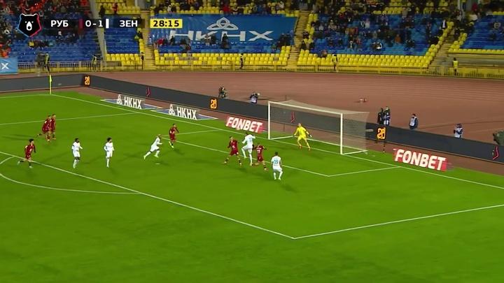 Melhores momentos de Claudinho pelo Zenit em setembro. DUGOUT