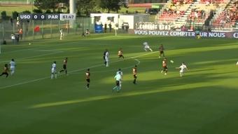 Segundo partido y gol: así se las gasta Achraf. DUGOUT