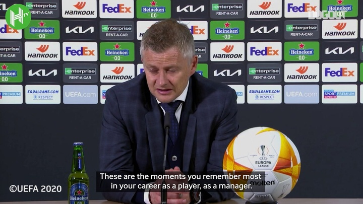 Solskjaer was thinking of bringing on Dean Henderson for the shootout. DUGOUT