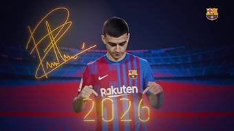 Pedri renova com o Barça até 2026 com multa de 1 bilhão de euros. DUGOUT