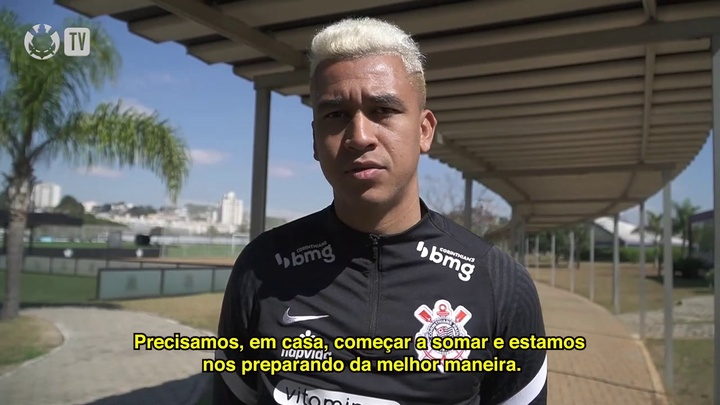 Cantillo ressalta importância do confronto diante do Flamengo. DUGOUT