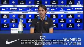 Inzaghi fala sobre sentimento em duelo diante de ex-time Lazio.