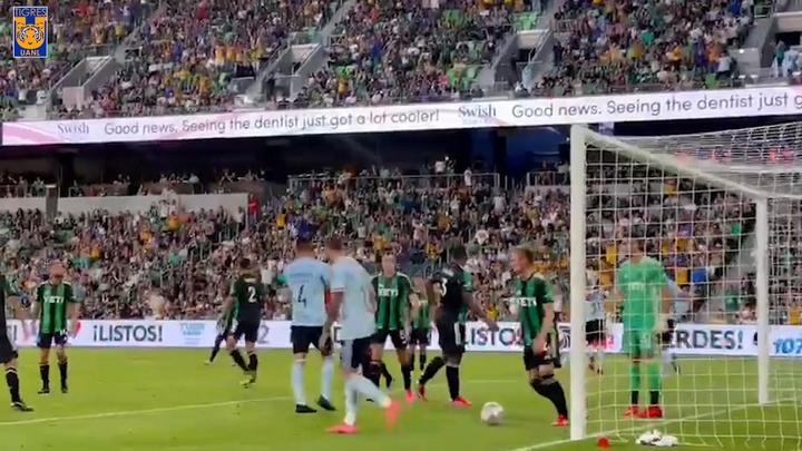 Nico Lopez y Diego Reyes firmaron los goles de la victoria de Tigres. DUGOUT