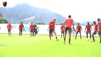 Flamengo encerra preparação e embarca para duelo contra o ABC. DUGOUT