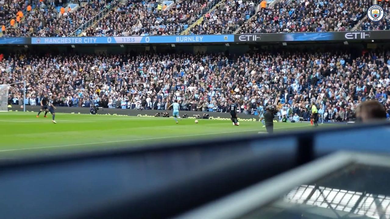 VIDÉO : L'inside de la victoire 2-0 de Manchester City sur Burnley