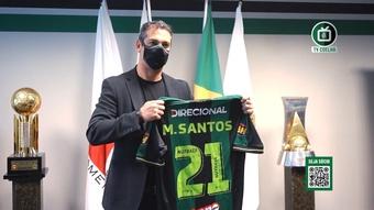 O primeiro treino de Marquinhos Santos no América-MG. DUGOUT