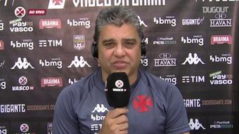 Marcelo Cabo fala sobre seu esquema tático.