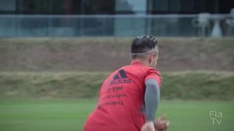 Flamengo deu início a preparação.