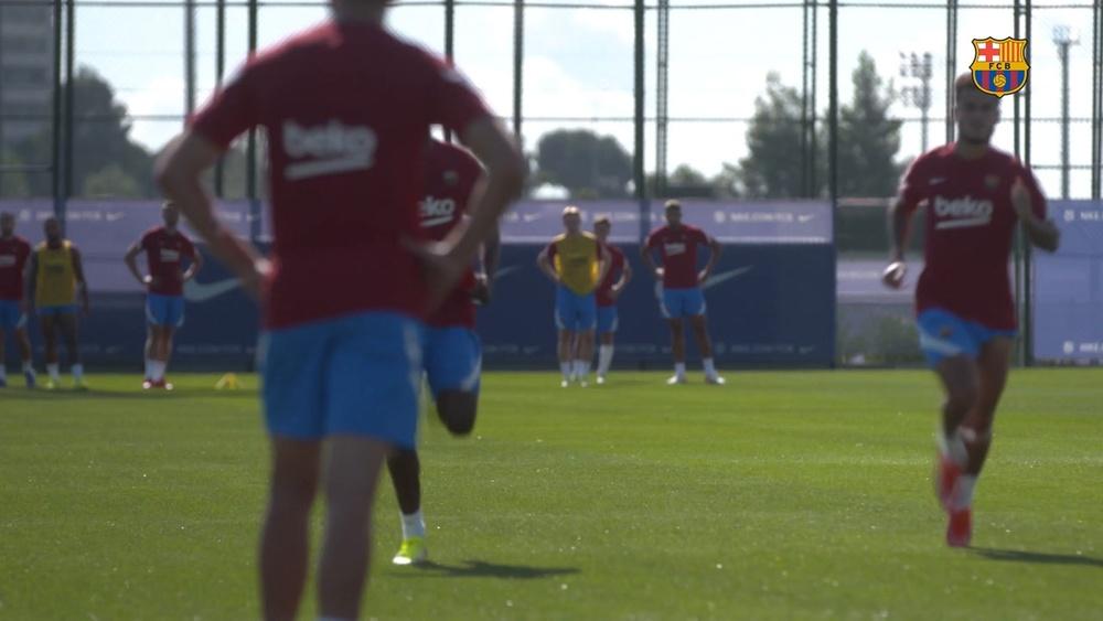 El Barcelona piensa en el Granada. DUGOUT