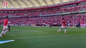 Veja os gols do Inter no empate com o Corinthians no Beira-Rio. DUGOUT