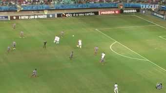 Santos have scored some cracking goals against Bahia in the past. DUGOUT