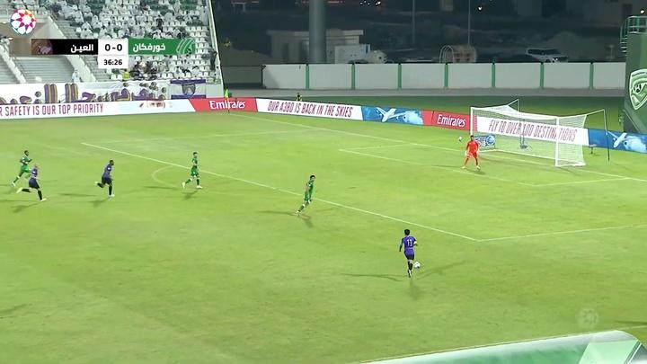 Al Ain got a 1-3 victory at Khorfakkan. DUGOUT