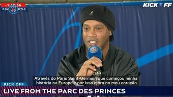 Ronaldinho volta ao Parc des Princes.