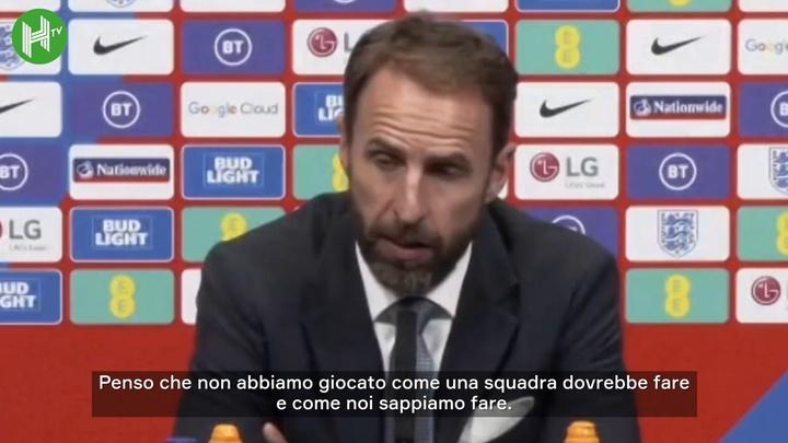 Southgate spiega la sostituzione del capitano Kane. Dugout