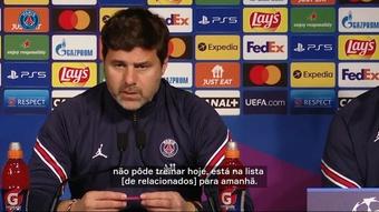 Pochettino fala sobre situação de Icardi para jogo contra o RB Leipzig. DUGOUT