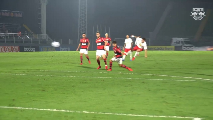 Artur scored a great goal for Bragantino in the 1-1 draw with Flamengo. DUGOUT