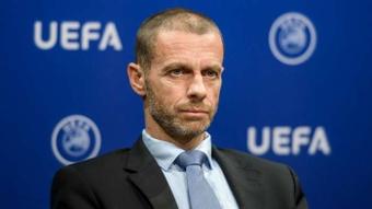 L'UEFA réfléchit à un fond de secours de six milliards d'euros. AFP
