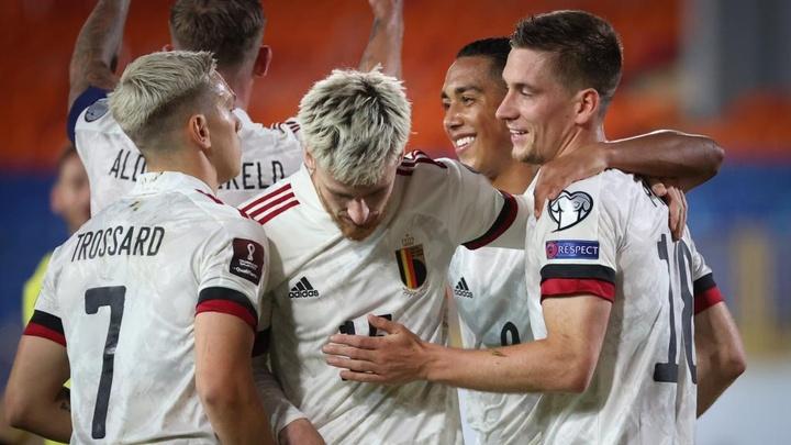 A Dennis Praet goal was enough for Belgium against Belarus. GOAL
