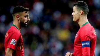 Fernandes: Ronaldo inspires United.