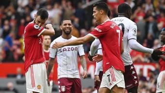 Pogba s'est opposé à Cristiano Ronaldo. AFP