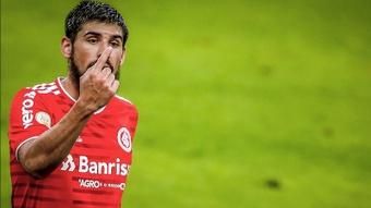 Bruno Méndez tem lesão muscular e desfalca o Inter por pelo menos quatro jogos