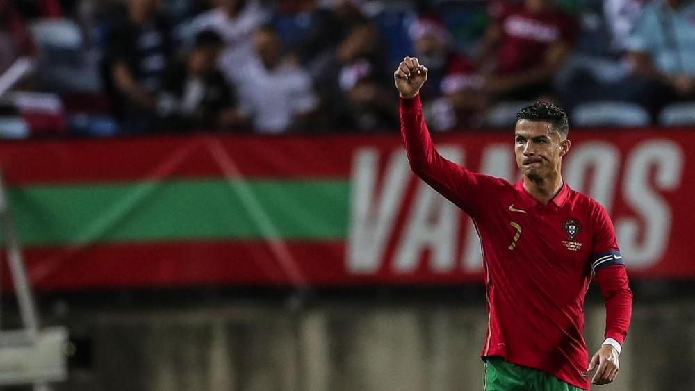 Cristiano Ronaldo vibra com outro recorde pessoal. EFE