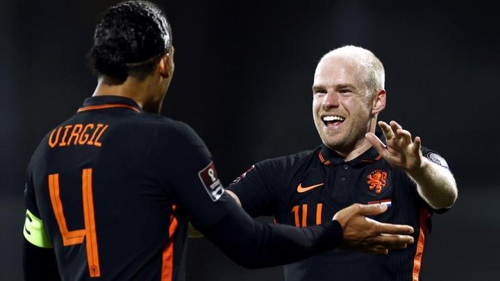 Netherlands grabs the away win. GOAL
