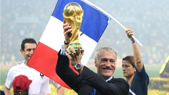 Didier Deschamps on FIFA and World Cup. GOAL