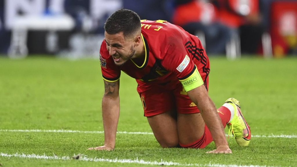 Hazard is medically perfect but we're all worried about his injuries, admits Roberto Martinez. GOAL