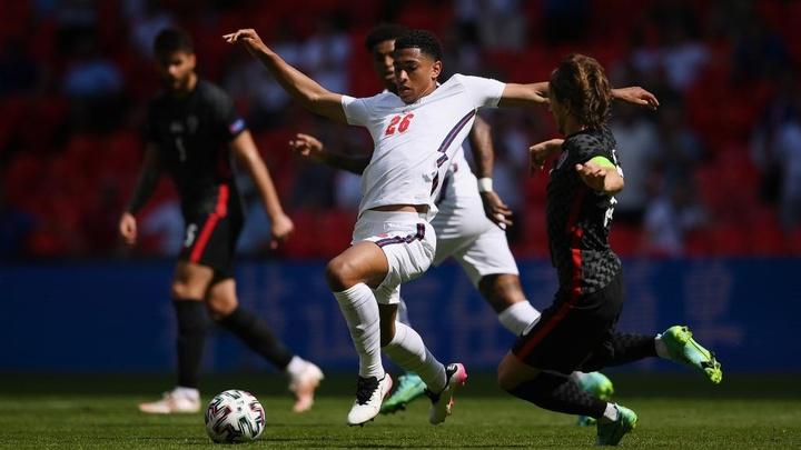 Jude Bellingham came off the bench for England against Croatia. AFP