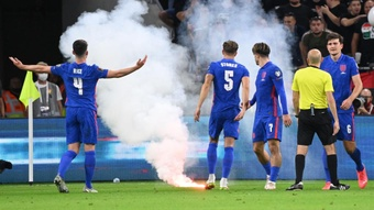 Hungary have promised two year ban for disruptive fans. GOAL