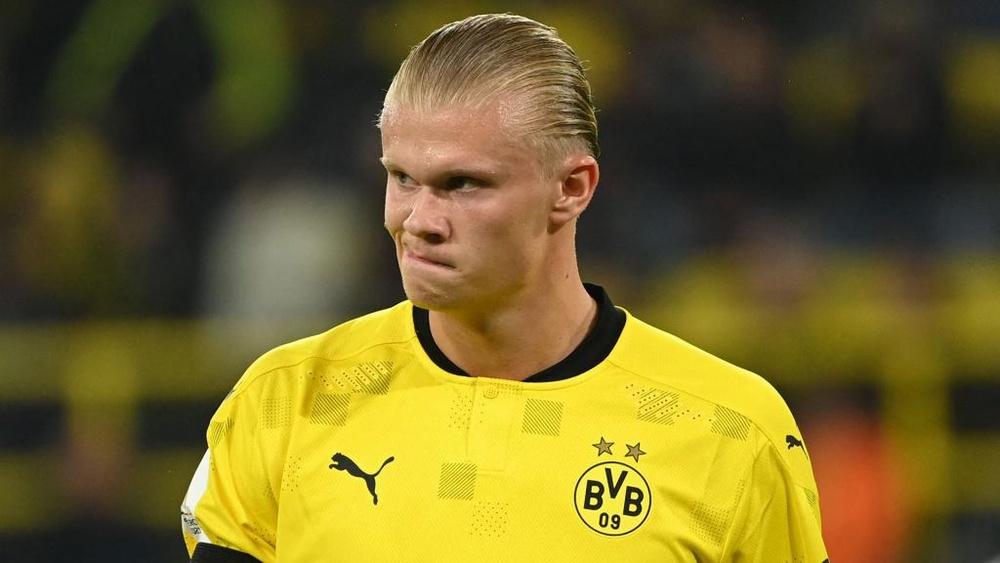 La Juventus aurait pu recruter Haaland. AFP