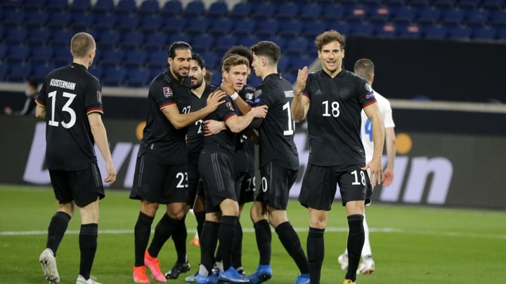 Germany began 2022 WC qualifying with a 3-0 win over Iceland. GOAL