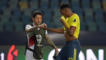 Colombia are looking to finish the tournament strongly against Peru. GOAL
