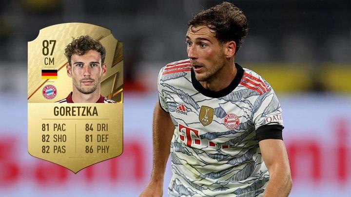 Por que card de Goretzka no FIFA 22 já é histórico? EFE