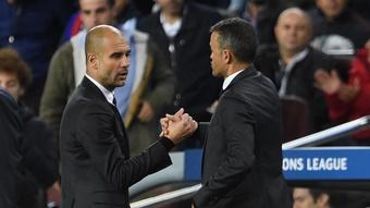 Luis Enrique wants Guardiola as the next Spain manager. GOAL