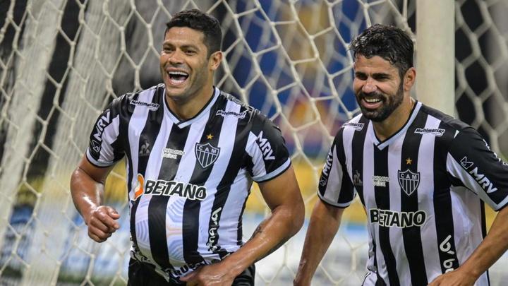 Hulk, Diego Costa e a eficiência que falta aos atacantes do Palmeiras. EFE