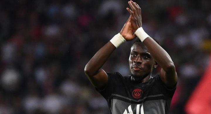 Idrissa Gueye, version offensive.