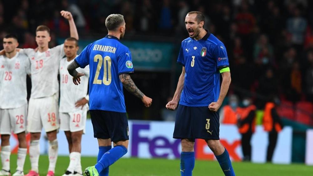 Italy v Spain: La Roja's domination the inspiration behind unbeaten Azzurri. AFP