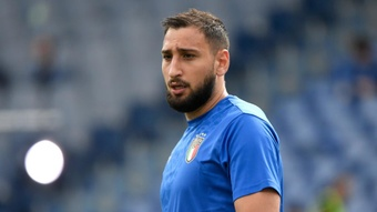 Donnarumma: Training with Messi, Neymar and Mbappe making me a better player. AFP