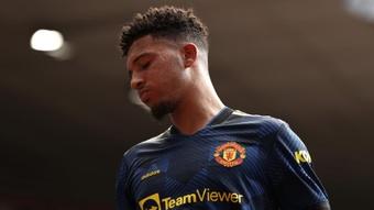 Southgate pas surpris  par les difficultés de Sancho à Manchester United. AFP