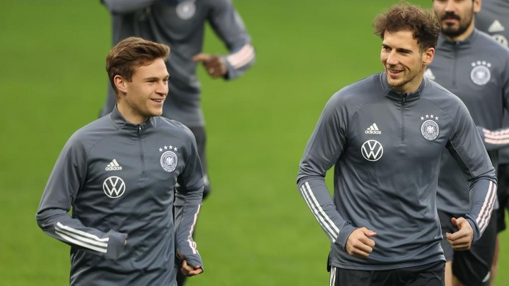 Flick: Kimmich-Goretzka partnership 'one of the best in the world'. GOAL