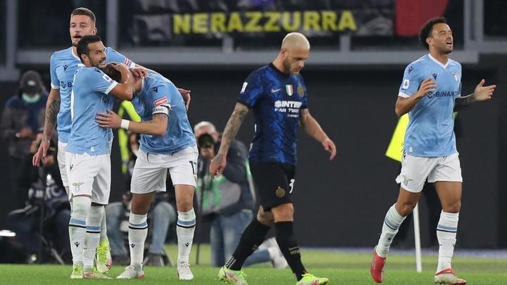 La Lazio frappe fort avant l'OM. AFP