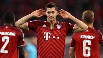 Lewandowski s'exprime sur ses chances de remporter le Ballon d'Or 2021. gOAL