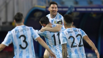 Lionel Messi has received major praise from Lionel Scaloni. GOAL