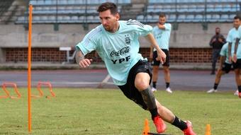 Scaloni bullish Messi will play all three Argentina qualifiers despite lack of games