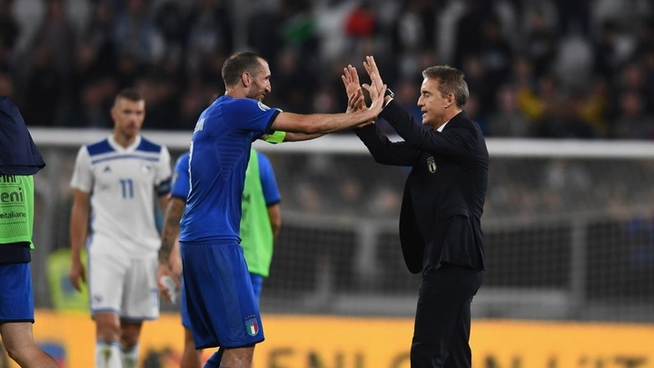 Chiellini reveals Mancini's ambition. GOAL