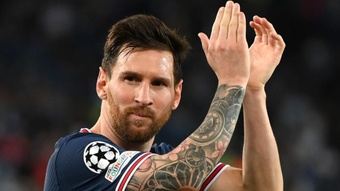 Pelo PSG, contra o City, Messi reforça papel de carrasco de Guardiola. EFE