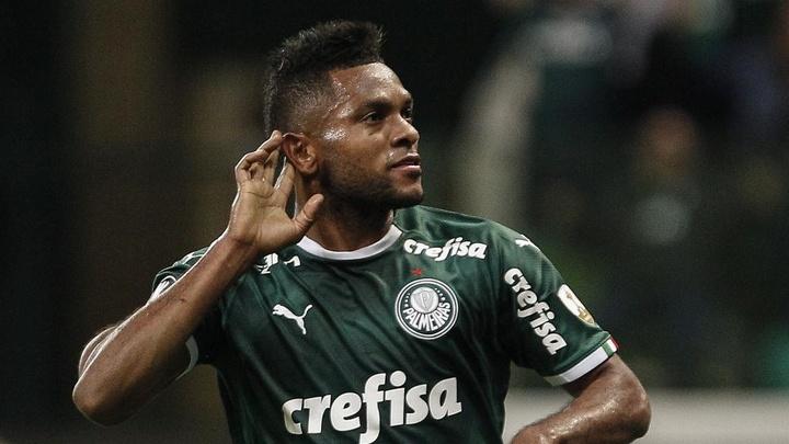Boca Juniors mira Borja, e Palmeiras quer 4 milhões de dólares. AFP