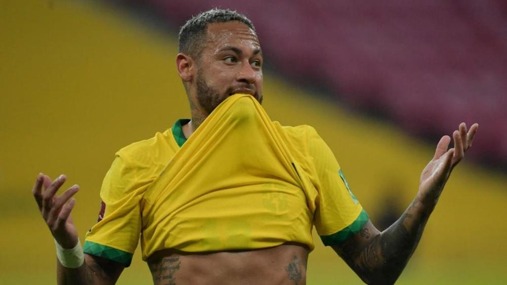Jussiê comprend la position de Neymar. AFP